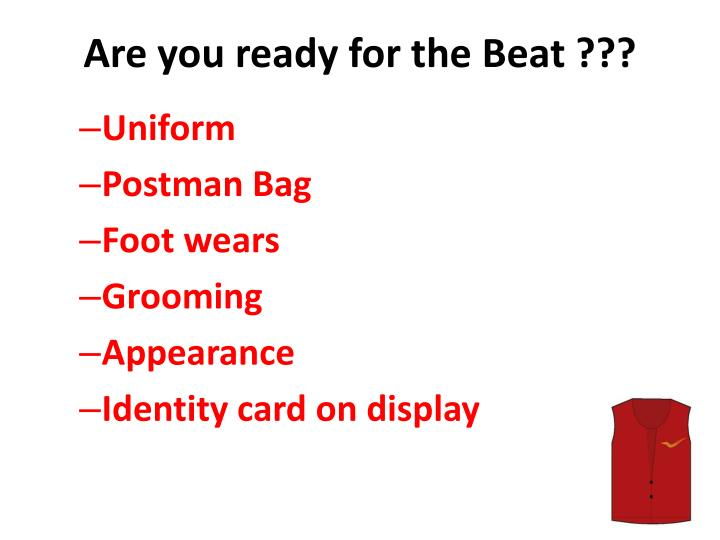 Are you ready for the Beat ???