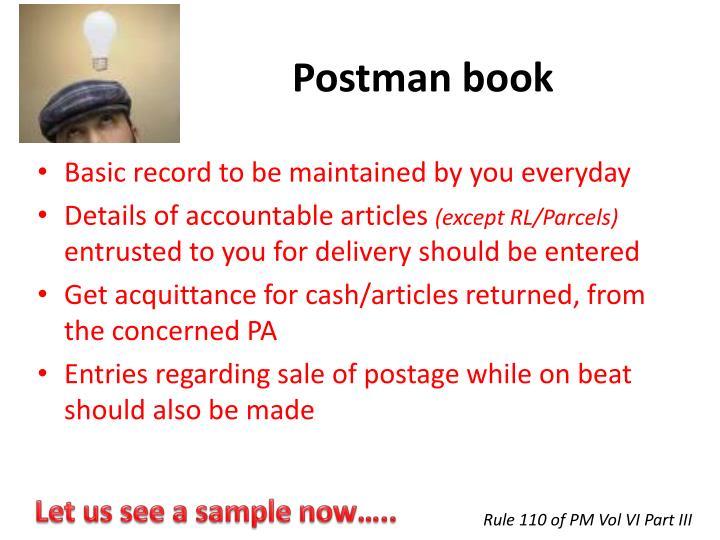 Postman book