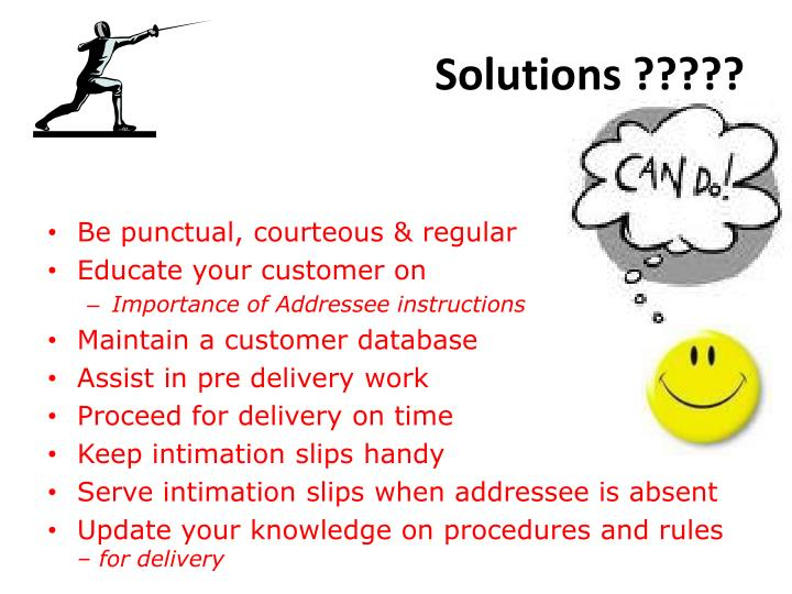 Solutions ?????