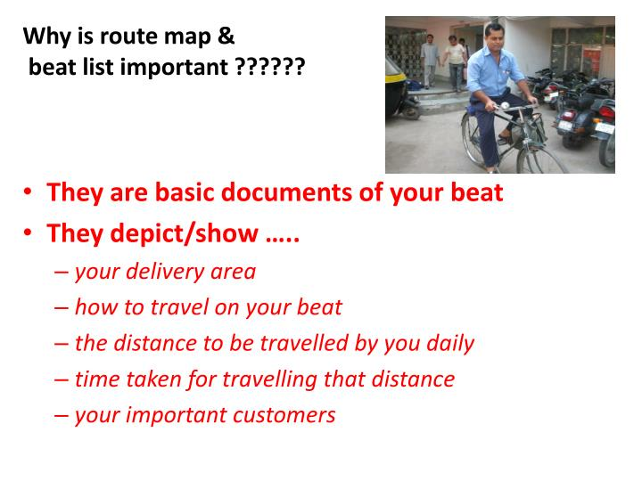 Why is route map &