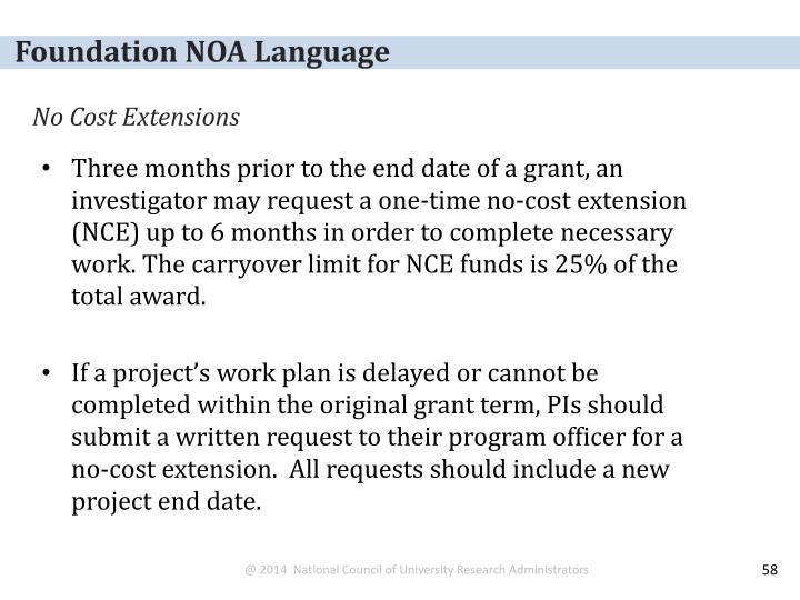 Foundation NOA Language