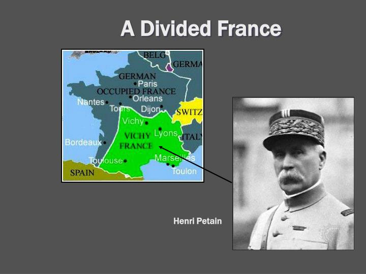 A Divided France