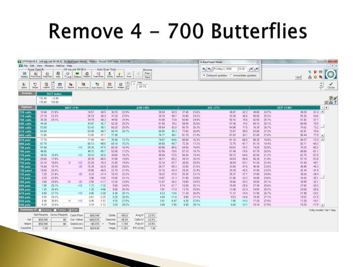 Remove 4 - 700 Butterflies