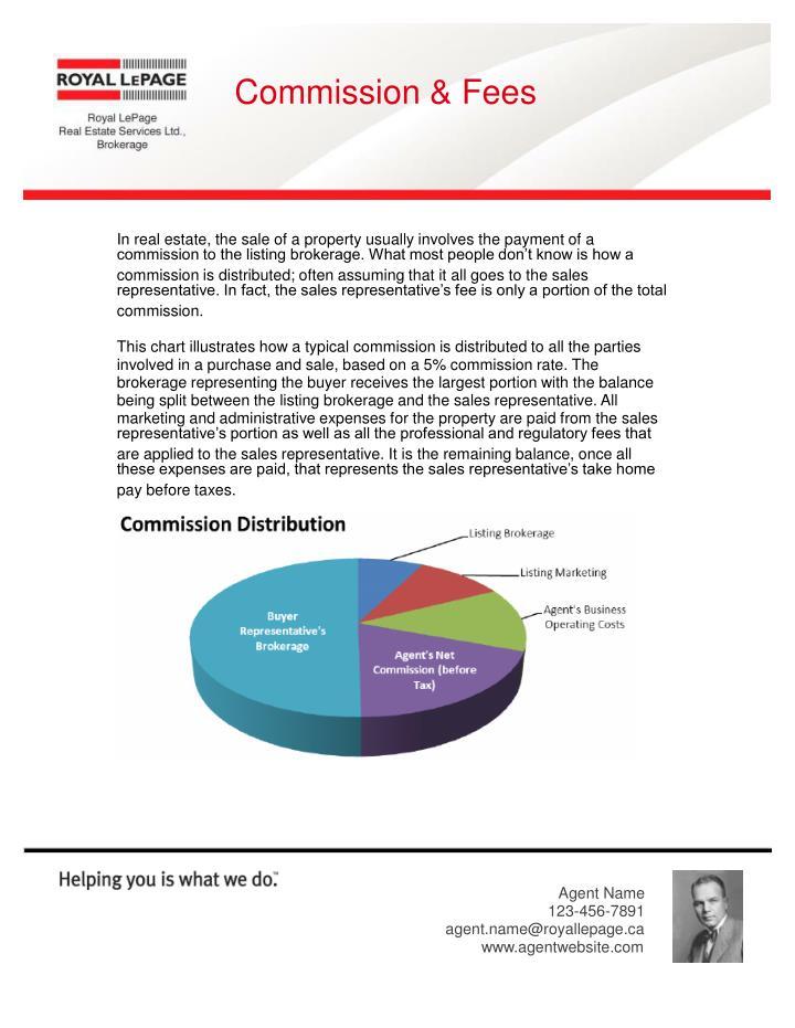 Commission & Fees