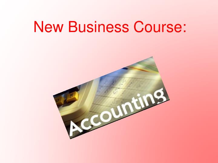 New Business Course: