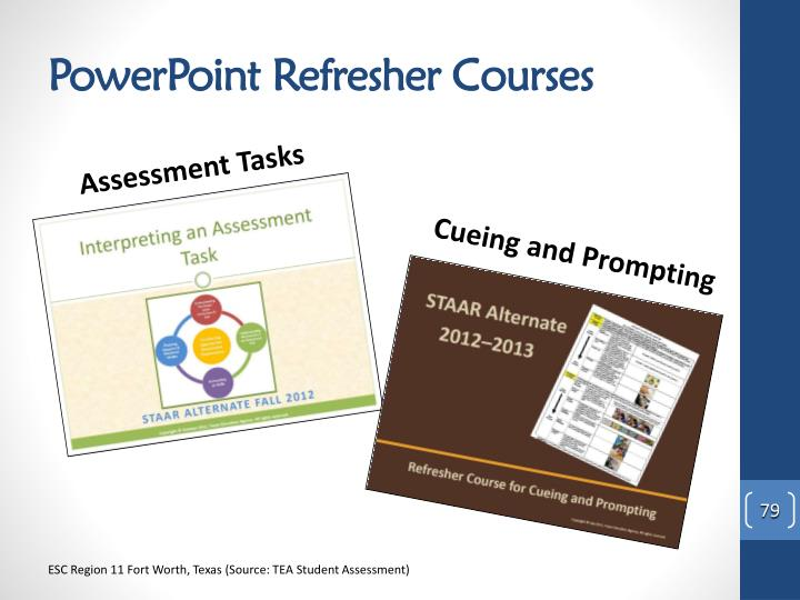 PowerPoint Refresher Courses