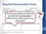 required documentation forms1