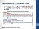 standardized assessment tasks1