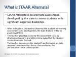 what is staar alternate