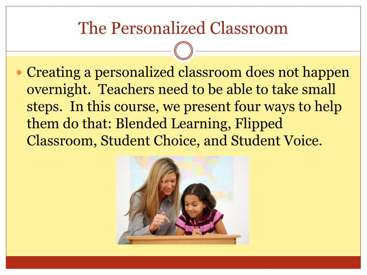 The personalized classroom1