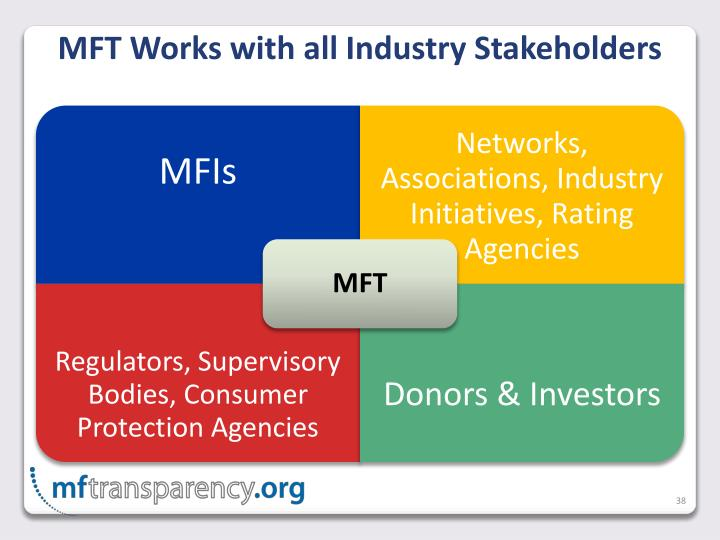 MFT Works with all Industry Stakeholders