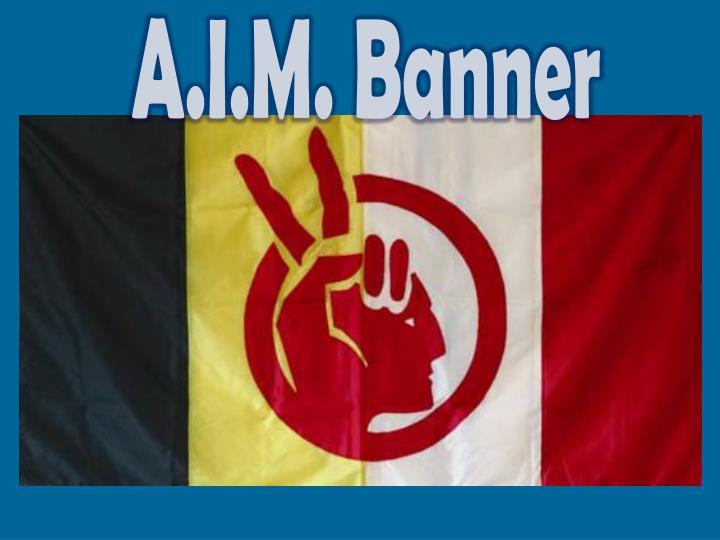 A.I.M. Banner
