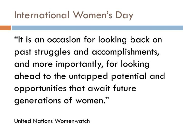 International women s day
