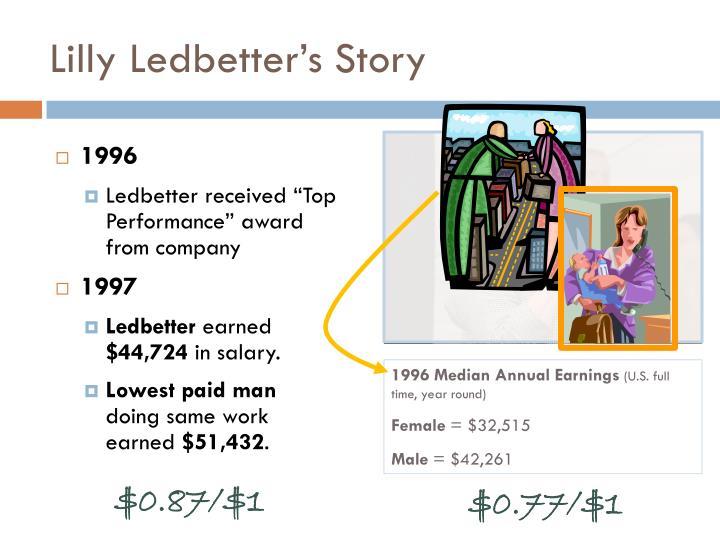 Lilly Ledbetter's Story