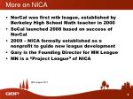 more on nica