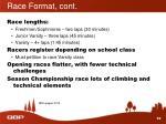 race format cont1