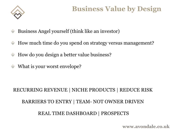 Business Value by Design