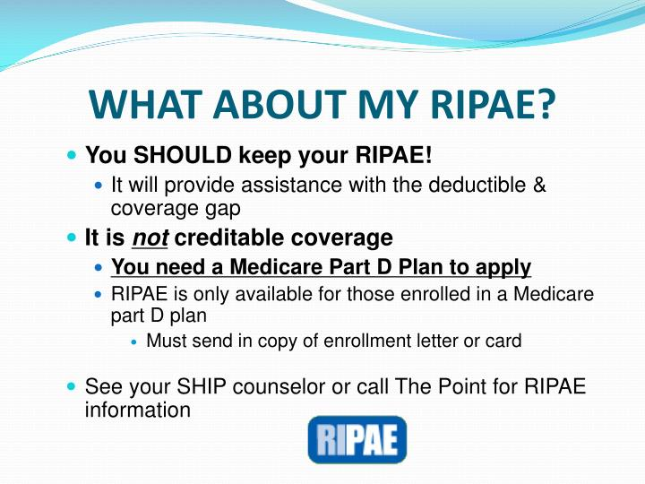 WHAT ABOUT MY RIPAE?
