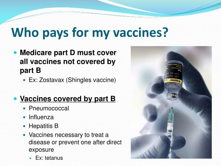 Who pays for my vaccines?