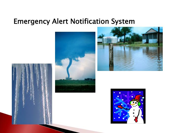 Emergency Alert Notification System