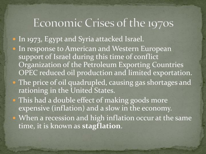 Economic Crises of the 1970s