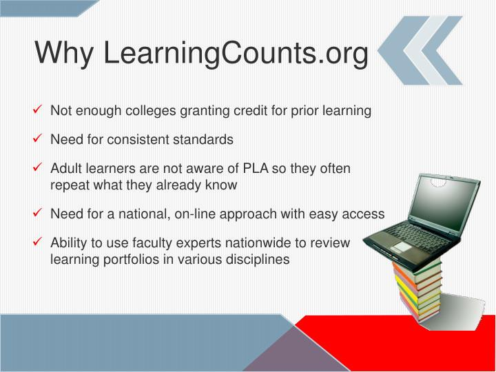 Why LearningCounts.org