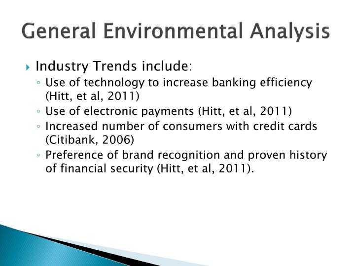 analysis of general environment General electric company profile - swot analysis: general electric (ge) is a leading multinational conglomerate with an appliance business that made.