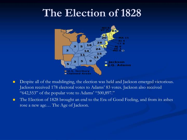 campaign of 1828 How the presidential election of 1828 changed us politics forever jeff christian, the top expert on transformational leadership assessment of presidential candidates, worlds top ceo search consultant and carly fiorina&#039s career advisor.
