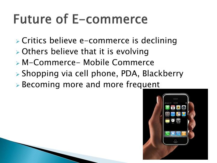 Future of E-commerce