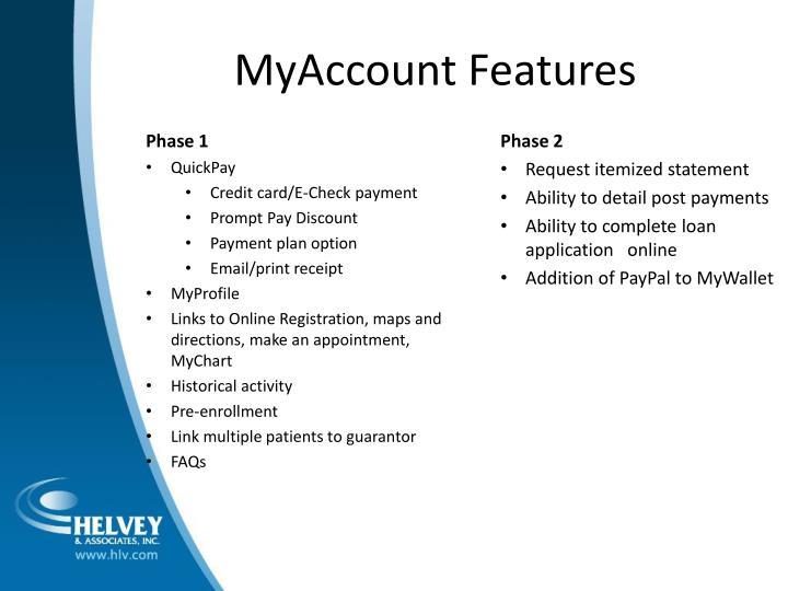 MyAccount