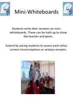 mini whiteboards