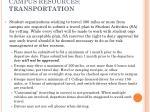 campus resources transportation1