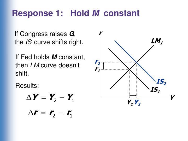 Response 1:   Hold