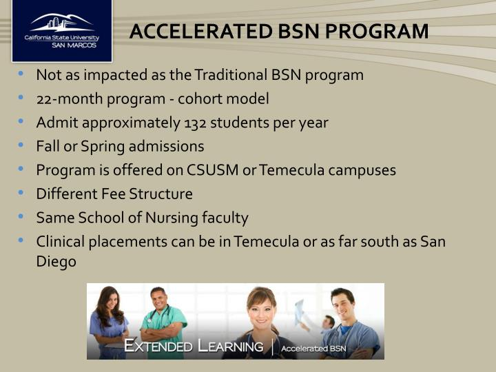 Accelerated BSN Program