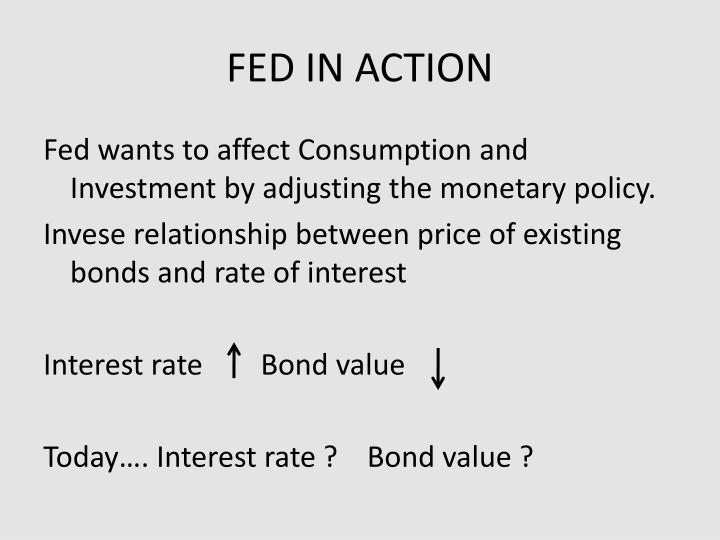 FED IN ACTION