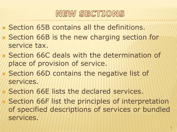 Section 65B contains all the definitions.