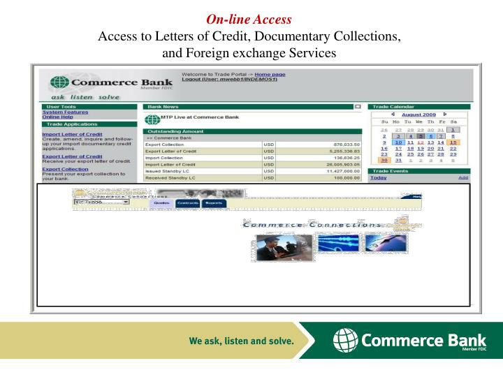 On-line Access