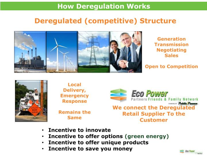 How Deregulation Works