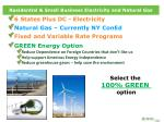 residential small business electricity and natural gas
