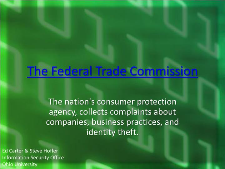 The Federal Trade