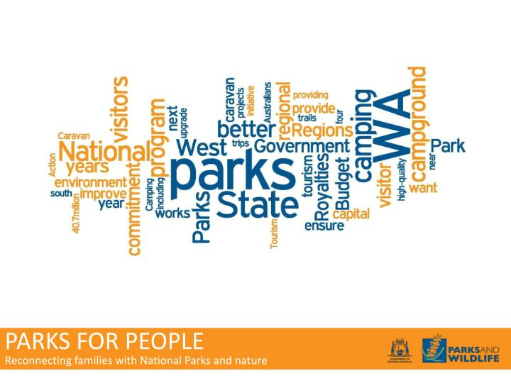 PARKS FOR PEOPLE