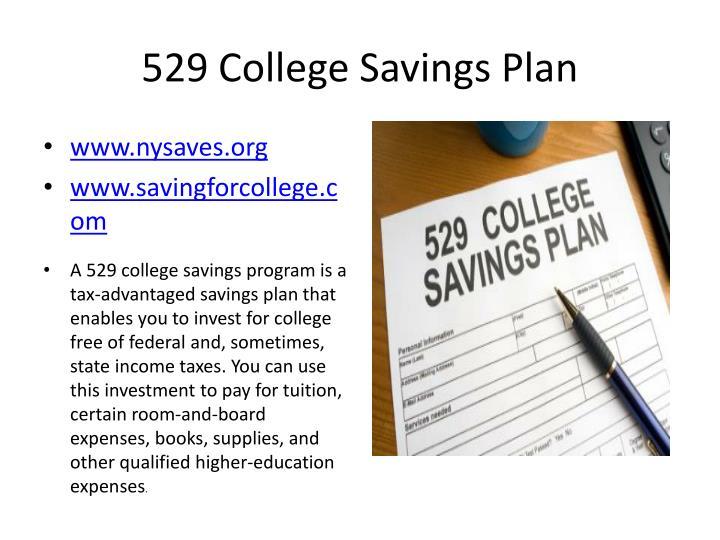 529 College Savings Plan