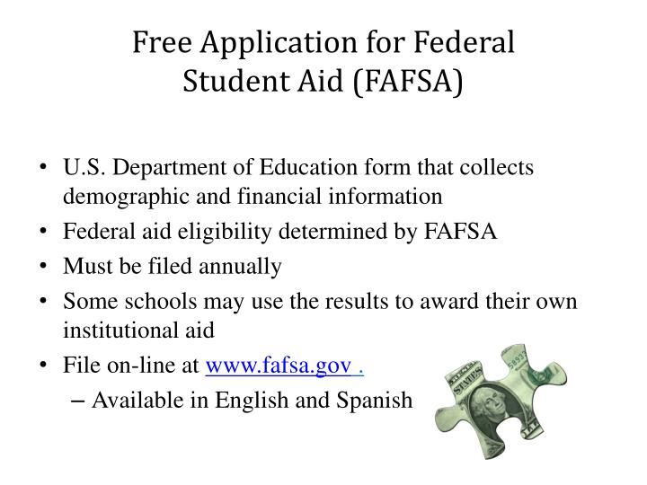 Free Application for Federal