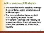 active investment strategies1