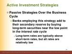 active investment strategies14