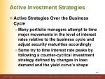 active investment strategies16