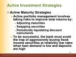 active investment strategies7