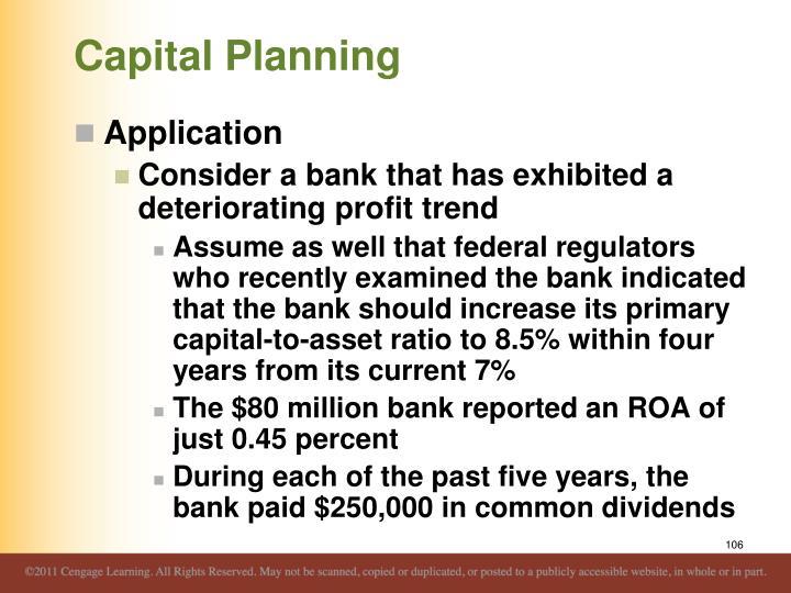 Capital Planning