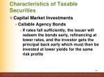 characteristics of taxable securities23