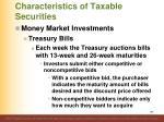 characteristics of taxable securities4